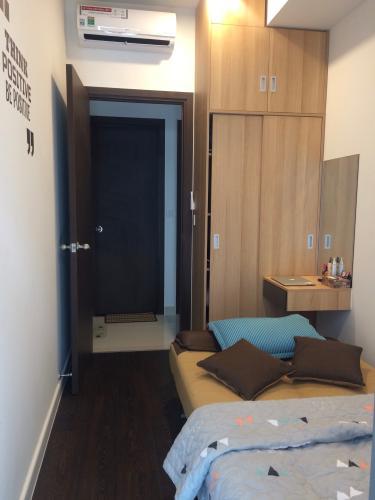 Phòng ngủ căn hộ The Tresor Căn hộ The Tresor tầng cao view nội khu thoáng mát, yên tĩnh.