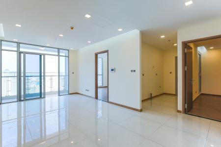 Officetel Vinhomes Central Park 2 phòng ngủ tầng cao P7 nhà trống