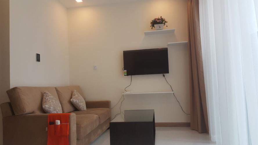 Cho thuê officetel Vinhomes Central Park 1PN, tháp Park 6, đầy đủ nội thất, view nội khu