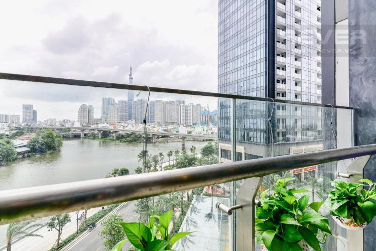 View Căn hộ Vinhomes Golden River tầng thấp, tháp Aqua 3, 3 phòng ngủ, hướng Đông Bắc, view sông