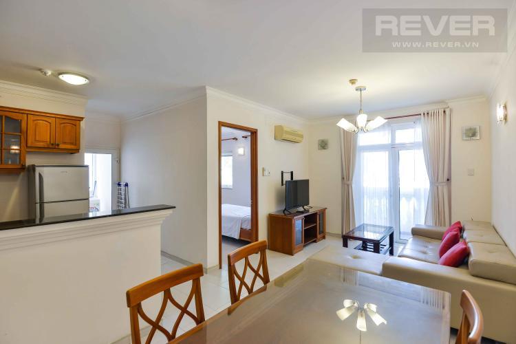 Cho thuê căn hộ dịch vụ đường Nguyễn Văn Hưởng, Quận 2, đầy đủ nội thất, dịch vụ phòng tiện nghi