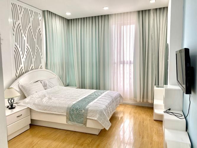 Phòng ngủ Prince Residence, Phú Nhuận Căn hộ Prince Residence tầng trung, hướng Tây Nam.