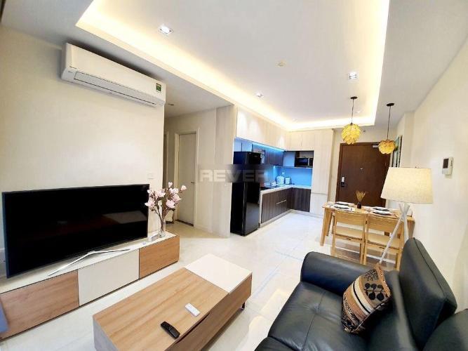 Căn hộ tầng trung Masteri Millennium nội thất đầy đủ hiện đại
