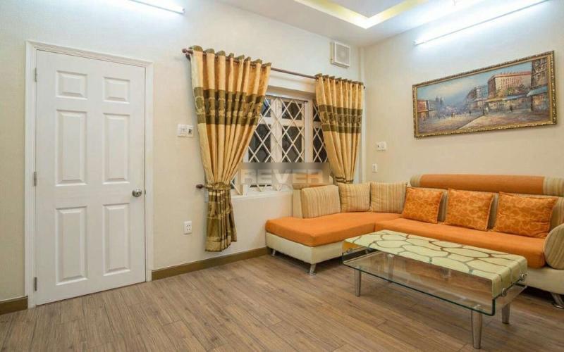 Phòng khách chung cư Lý Văn Phức Quận 1  Căn hộ chung cư Lý Văn Phức nội thất đầy đủ, trung tâm thành phố.