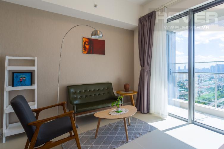 Phòng Khách Cho thuê căn hộ Madison Gateway Thảo Điền tầng cao, 1PN, đầy đủ nội thất