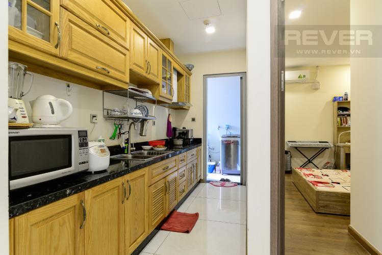 Nhà Bếp Bán hoặc cho thuê căn hộ Vinhomes Central Park 2PN tầng trung tháp Park 7, đầy đủ nội thất cao cấp