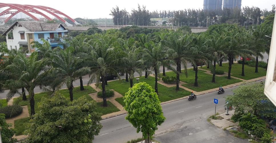 Căn hộ Hồng Lĩnh Plaza, Bình Chánh Căn hộ Hồng Lĩnh Plaza tầng thấp view thành phố và cây xanh.