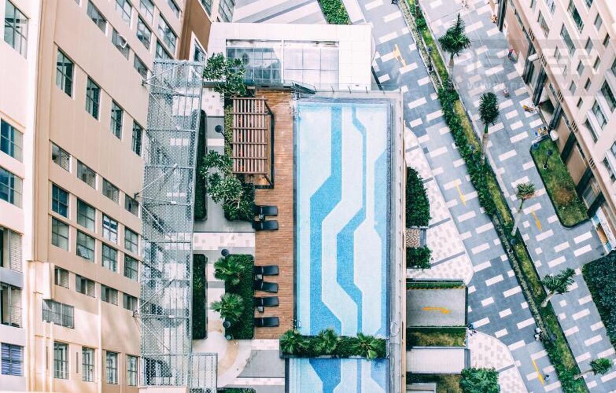 6479ed81e404035a5a15 Bán căn hộ Saigon Royal 1 phòng ngủ, tầng 20, tháp A, không nội thất, view hồ bơi