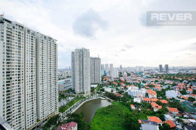 View Căn hộ Nassim Thảo Điền nằm ở tầng cao, tháp B, gồm 2 phòng ngủ, view sông