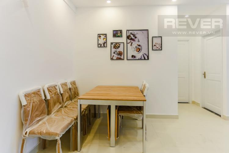 Phòng Ăn Căn hộ Florita 2 phòng ngủ tầng thấp tháp A view nội khu