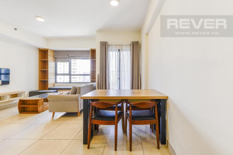 Bàn ăn Căn hộ Masteri Thảo Điền 2 phòng ngủ tầng cao T3 nội thất đầy đủ