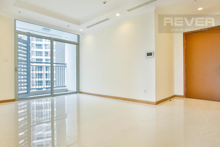 Phòng khách Căn hộ Vinhomes Central Park tầng cao hướng Đông Bắc tháp Landmark 2