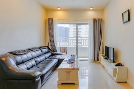 Căn hộ Sunrise City 2 phòng ngủ tầng cao W4 view hồ bơi