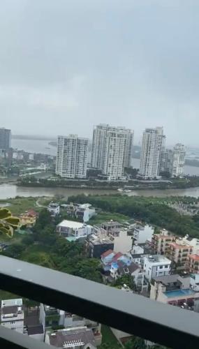 view cảnh căn hộ The Sun Avenue Căn hộ The Sun Avenue đầy đủ nội thất, view thành phố.