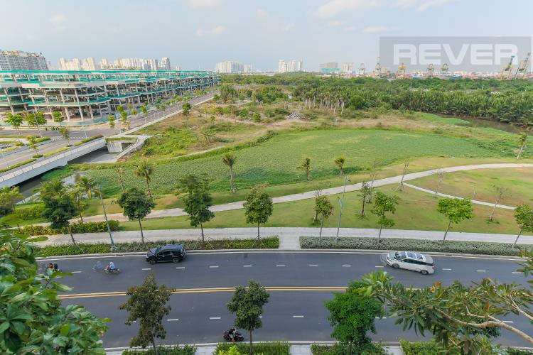 View Cho thuê căn hộ Sarica Sala Đại Quang Minh 3PN, đầy đủ nội thất, view công viên mát mẻ