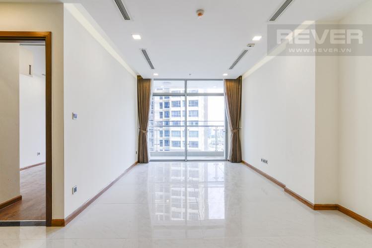 Phòng Khách Căn hộ Vinhomes Central Park 2 phòng ngủ, tầng trung P5, view nội khu