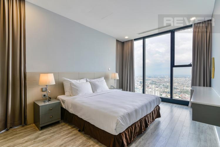 Phòng Ngủ 2 Cho thuê căn hộ Vinhomes Golden River tầng cao, 2PN, đầy đủ nội thất, view đẹp