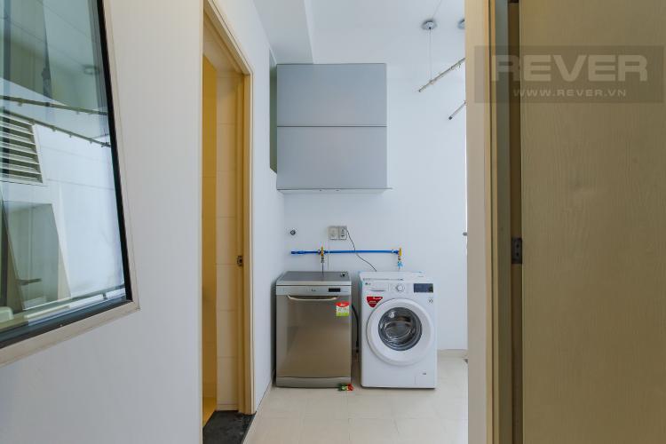 Logia Cho thuê căn hộ The Estella Residence 3PN nội thất đầy đủ, view tiện ích nội khu đẹp