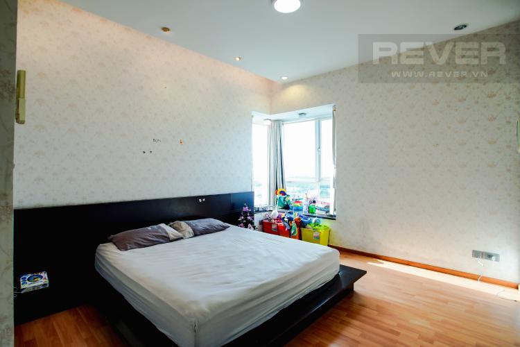 Phòng Ngủ 1 Căn hộ Chung cư Phú Mỹ tầng cao, 3PN, nội thất đầy đủ, view hồ bơi