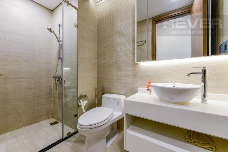 Phòng tắm 2 Căn hộ Vinhomes Central Park tháp 1, tầng trung, đầy đủ nội thất