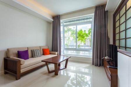 Căn hộ dịch vụ 1 phòng ngủ 50m2 số 17.19 đường D7 Saigon Pearl