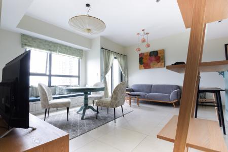 Cho thuê căn hộ Masteri Thảo Điền tầng cao, 2PN, đầy đủ nội thất