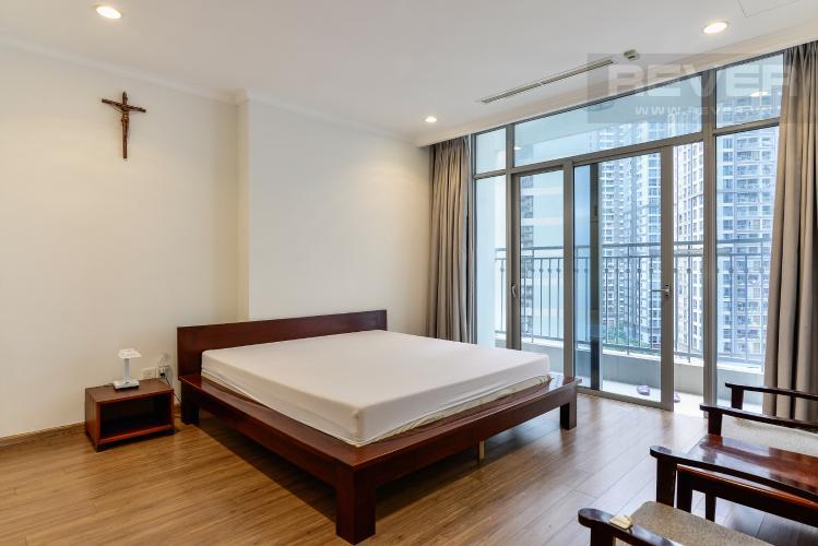Phòng Ngủ 2 Bán căn hộ Vinhomes Central Park 4PN, tháp The Central 2, đầy đủ nội thất, view hồ bơi