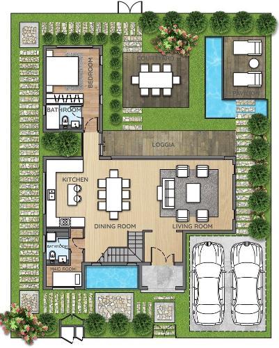 biet-thu-dao-dai-phuoc-nhon-trach Bán biệt thự đảo Đại Phước - Nhơn Trạch, diện tích đất 500m2, hoàn thiện đầy đủ nội thất