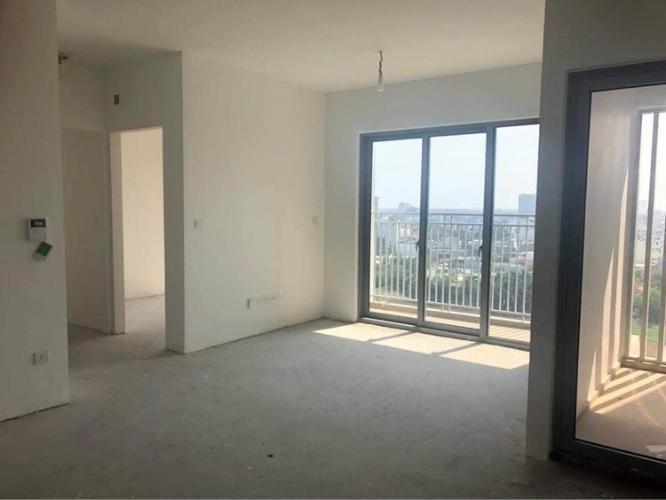 Phòng khách căn hộ Palm Height, Quận 2 Căn hộ Palm Heights bàn giao thô, view thành phố mát mẻ.