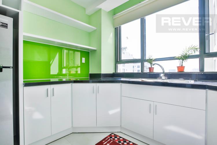 Bếp Căn hộ The Gold View 2 phòng ngủ tầng cao A2 đầy đủ nội thất