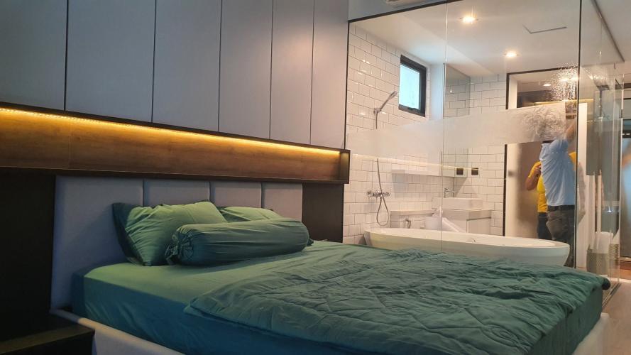 Phòng ngủ căn hộ Feliz En Vista Bán căn hộ thông tầng Feliz En Vista đầy đủ nội thất sang trọng.