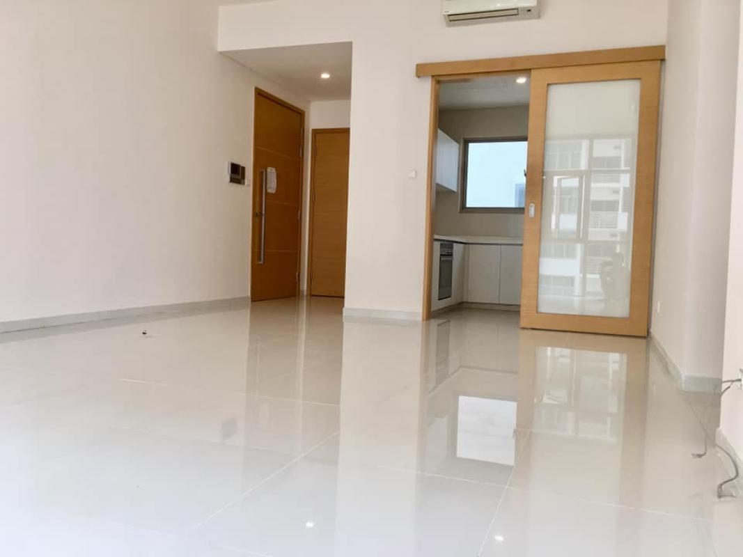 Phòng khách Bán hoặc cho thuê căn hộ The Vista An Phú 3PN, tháp T4, nội thất cơ bản, căn góc view thoáng