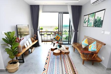 Cho thuê căn hộ Palm Heights 2PN, diện tích 77m2, đầy đủ nội thất, view khu biệt thự phía dưới