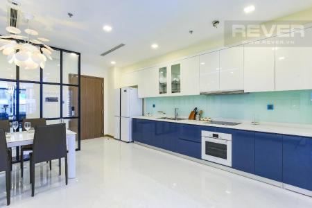 Cho thuê căn hộ Vinhomes Central Park 2 phòng ngủ, tháp Park 4, đầy đủ nội thất, hướng Tây