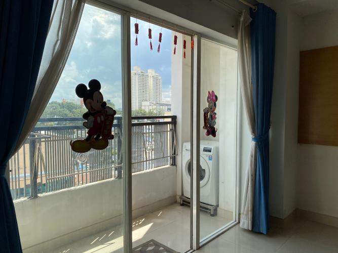 Ban công căn hộ chung cư Sao Mai, Quận 5 Căn hộ chung cư Sao Mai ban công Đông Nam, view thành phố đón gió mát.