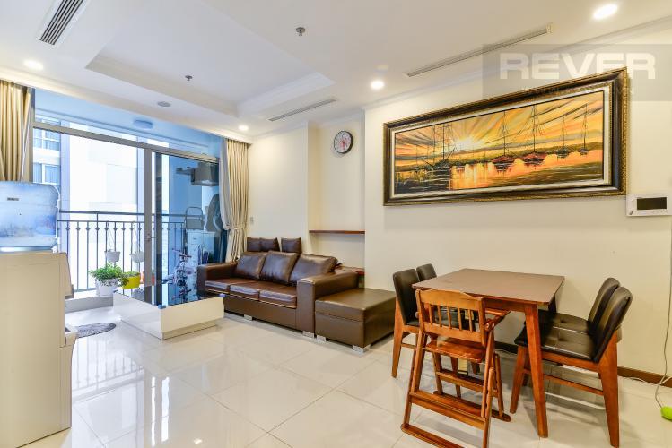 Phòng Khách Bán căn hộ Vinhomes Central Park tầng cao 2PN view sông