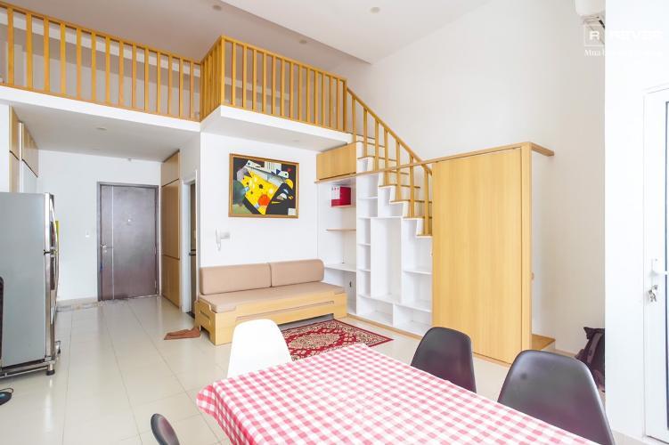 Cho thuê căn hộ Lexington Residence 1PN, đầy đủ nội thất, có tầng lửng, giá tốt