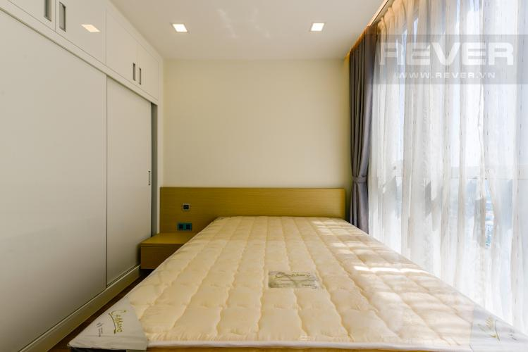 Phòng ngủ 2 Căn hộ Vinhomes Central Park tầng cao, tháp Park 4, 2PN nội thất đầy đủ, view sông
