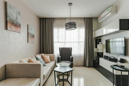 Căn hộ Sunrise City tầng trung, tháp W3, 2 phòng ngủ, full nội thất