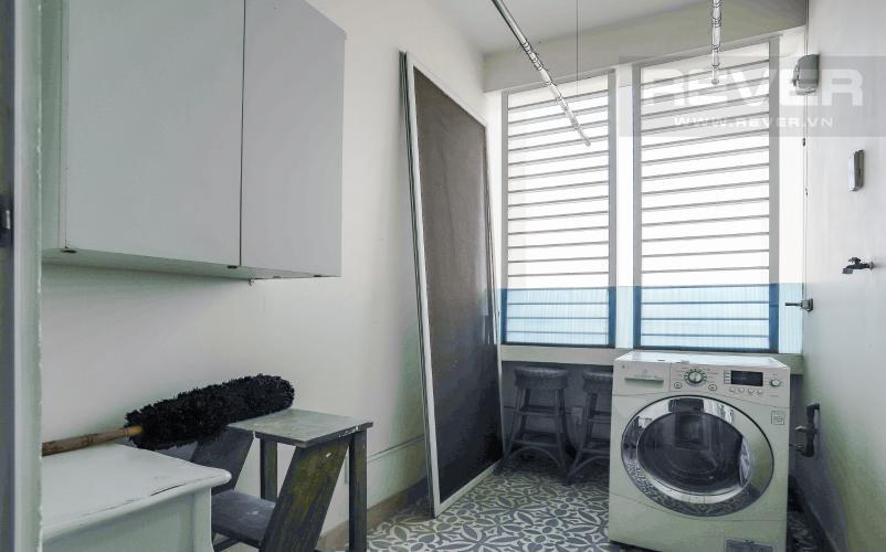 Phòng Giặt Bán căn hộ Grand View Quận 7 tầng thấp 2PN đầy đủ nội thất