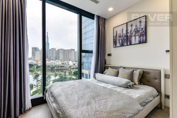 Phòng Ngủ 2 Officetel Vinhomes Golden River tầng thấp, 2 phòng ngủ, full nội thất