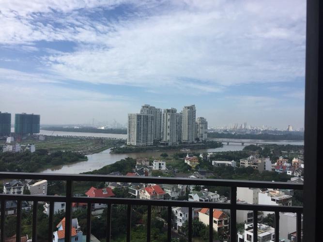 Cho thuê căn hộ tầng cao The Sun Avenue, view sông và hồ bơi nội khu, nội thất đầy đủ, dọn vào ở ngay.