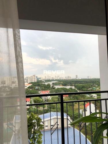 Ban công căn hộ Saigon South Residence, Nhà Bè Căn hộ SaiGon South Residence đầy đủ nội thất, view thành phố mát mẻ,