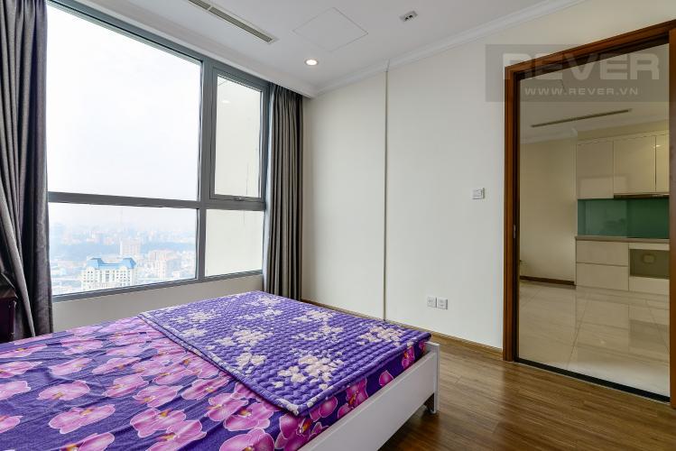 Phòng Ngủ Căn hộ Vinhomes Central Park tầng cao, 1PN đầy đủ nội thất