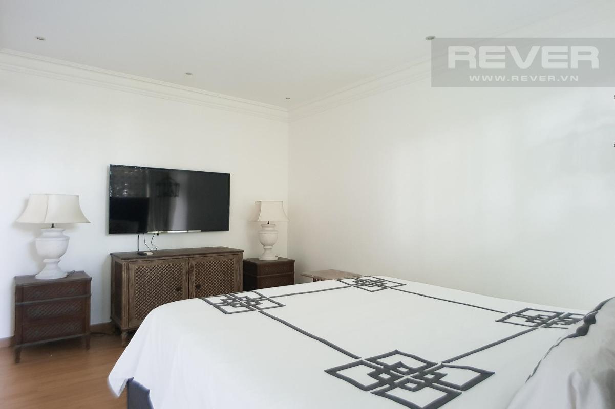 Phòng ngủ Master Bán hoặc cho thuê căn hộ sân vườn The Vista An Phú 3PN, tháp T3, diện tích 220m2, đầy đủ nội thất