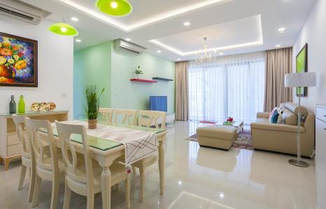 Căn góc Estella Heights 3 phòng ngủ tầng trung T2 đầy đủ nội thất
