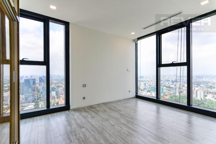 Phòng Ngủ 1 Cho thuê căn hộ tầng cao Vinhomes Golden River, 3PN, view sông Sài Gòn