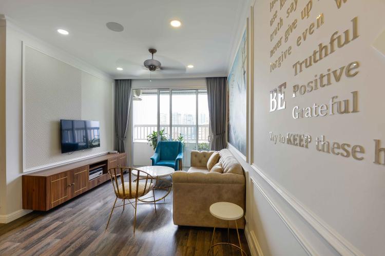 Bán hoặc cho thuê căn hộ Lexington Residence tầng cao, 3 phòng ngủ, diện tích 97m2, đầy đủ nội thất