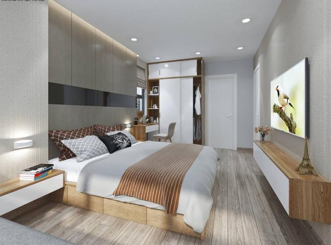 Phòng ngủ Phú Mỹ Hưng Midtown, Quận 7 Căn hộ Phú Mỹ Hưng Midtown view thành phố, nội thất đầy đủ.
