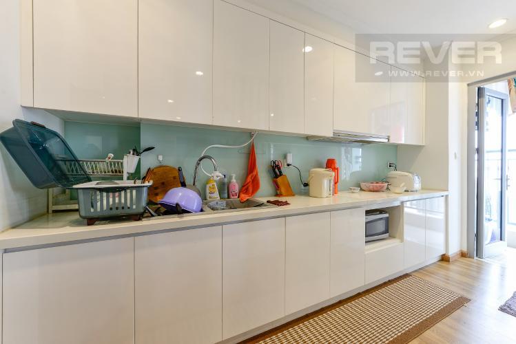 Bếp Căn hộ Vinhomes Central Park 4 phòng ngủ tầng trung C2 view sông